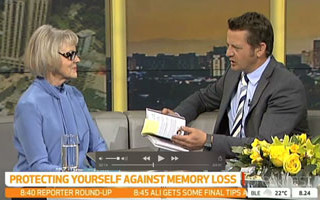 Gillian Eadie on Breakfast TV