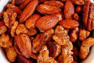 Brainy Spiced Nuts